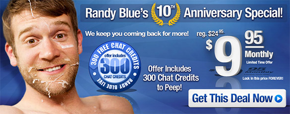 60% off until canceled at RandyBlue