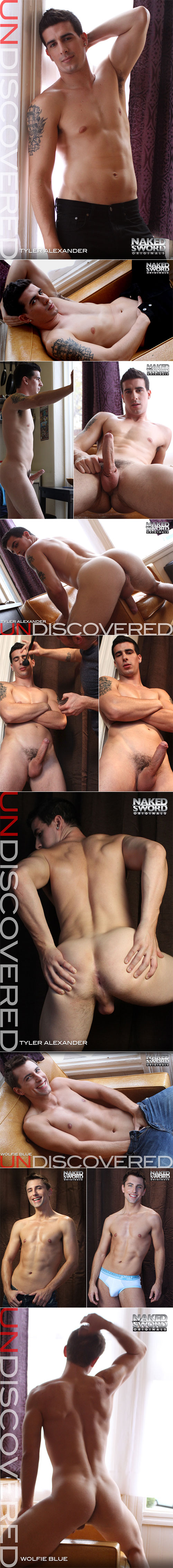 "NakedSword Originals: Tyler Alexander and Wolfie Blue fuck each other in ""Undiscovered"""