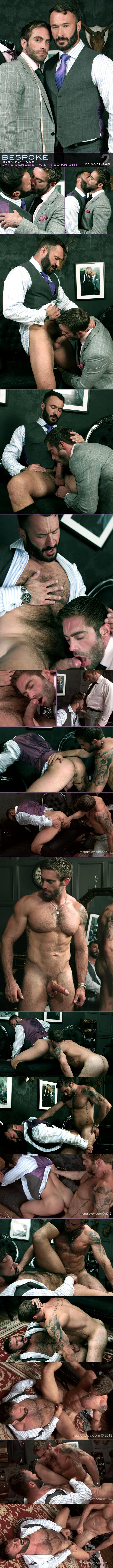 "MenAtPlay: Wilfried Knight gets fucked by Jake Genesis in ""Bespoke, Episode 2"""
