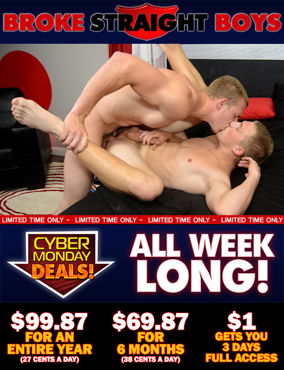 Broke Straight Boys CyberWeek Special