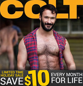 $10 off at Colt Studio Group