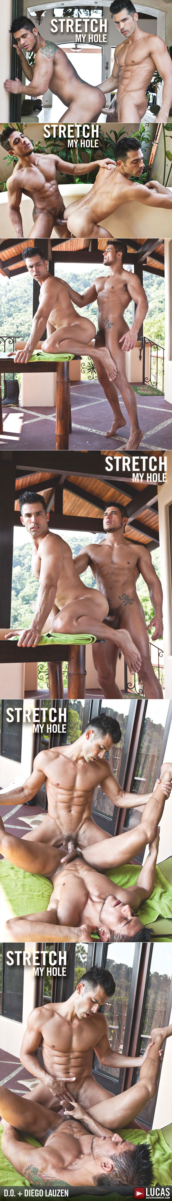 """Lucas Raunch: D.O. and Diego Lauzen's hardcore ass play in """"Stretch My Hole"""""""
