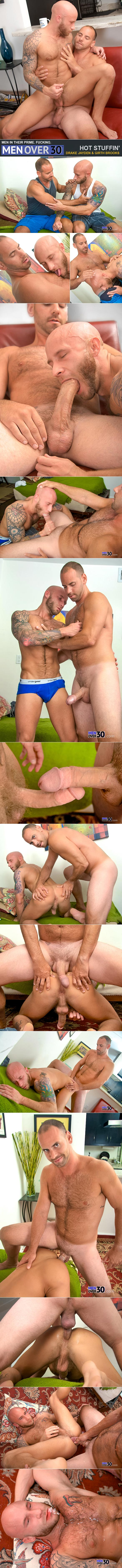 "MenOver30: Girth Brooks pounds Drake Jayden in ""Hot Stuffin'"""