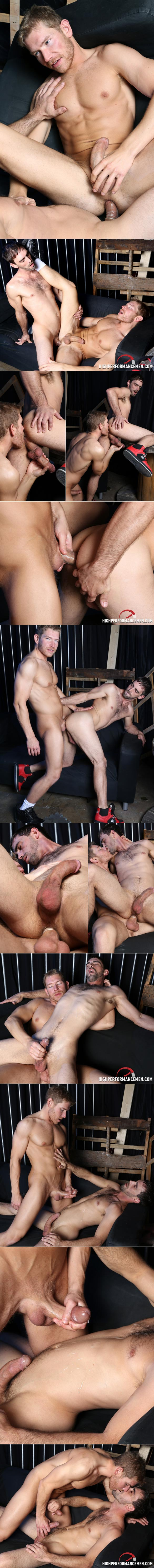 "HighPerformanceMen: Joe Parker and Alex Adams fuck each other in ""Bottoms Up!"""