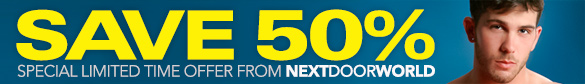 50% off at NextDoorWorld