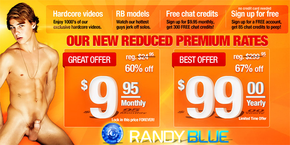 Randy Blue Special Offers