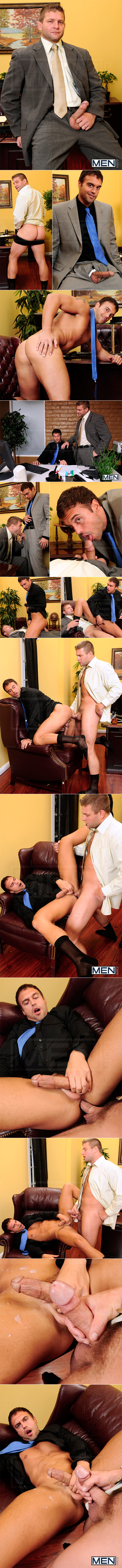 """Men.com: Colby Jansen fucks Rocco Reed in """"Touchy Boss"""""""